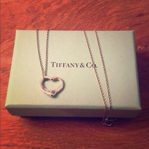 Authentic Tiffany & Co 925 silver pendant